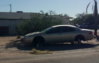 Code Violation - Parking of Inoperable Vehicle in Residential Area