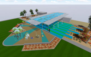 Playground with shade structure (1)