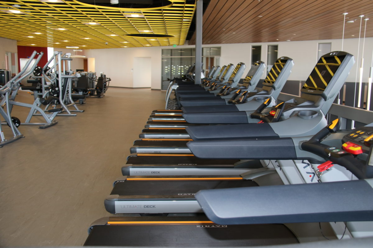 Cardio Machines at the Community Recreation Center