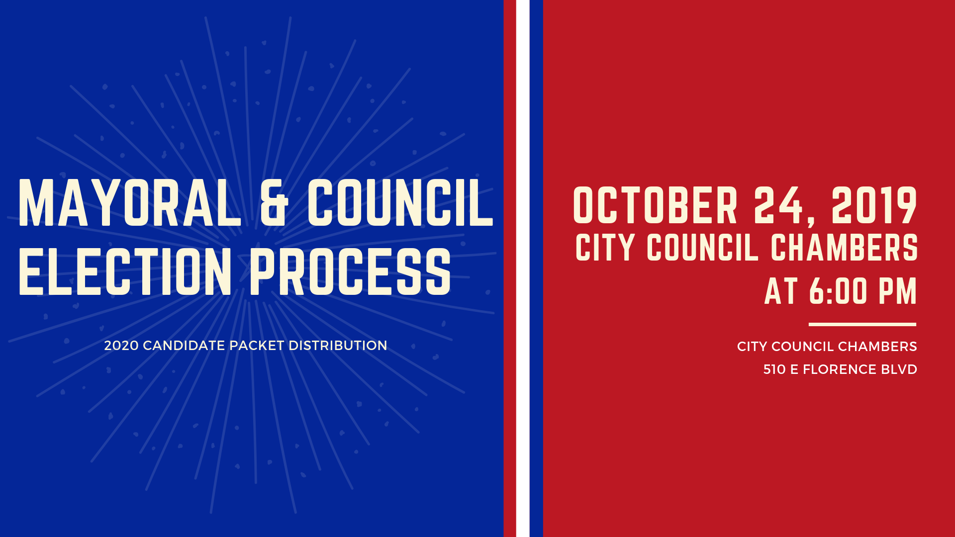 Mayoral and Council Election Process