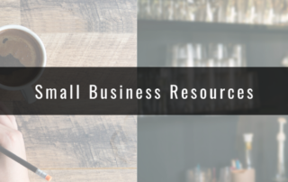 Small Business and Community Resources